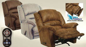 Massage and Heat Recliners from Catnapper