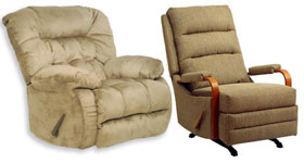 Rocker and Swivel Recliners by Catnapper