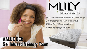 Value Gel-Infused Memory Foam Bed