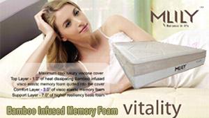 Vitality Bamboo Infused Memory Foam